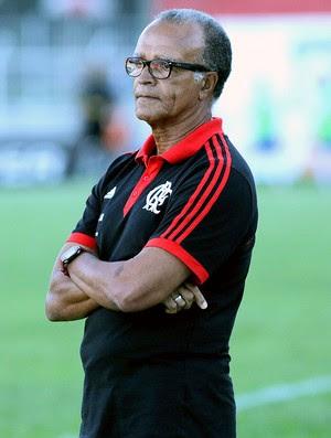 Jayme de Almeida no jogo Flamengo e Friburguense (Foto: Marcelo Theobald / Agência O Globo)