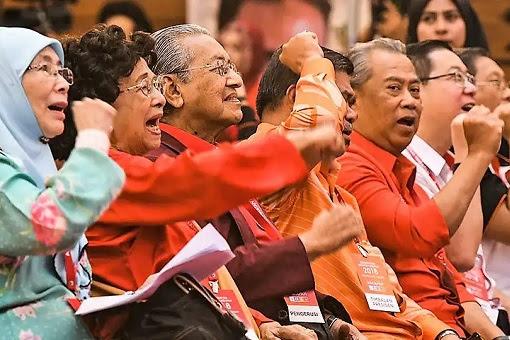 Pakatan Harapan Leaders - Cheering
