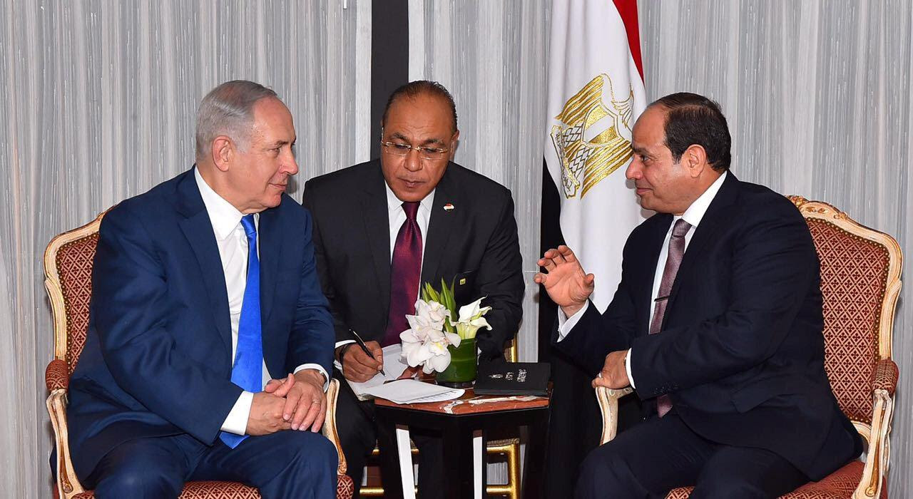 Image result for al sisi egypt netanyahu