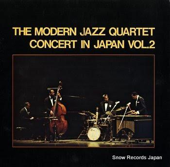 MODERN JAZZ QUARTET, THE concert in japan vol.2