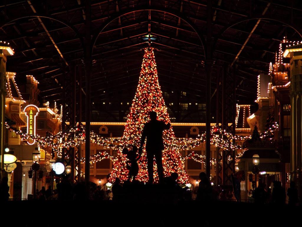 ディズニーランドクリスマス壁紙