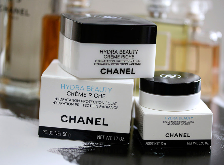 New Skincare From Chanel: Hydra Beauty Creme Riche and ...