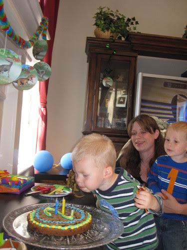 Jonathan's Second Birthday Party