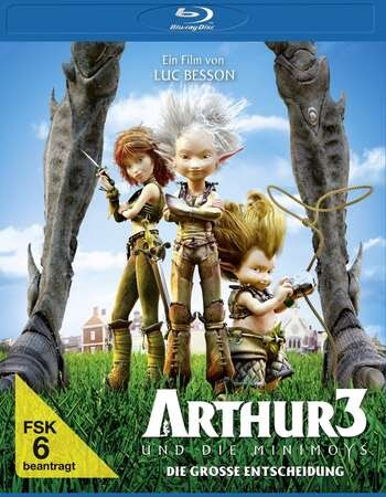 Arthur 3 War of the Two Worlds (2010) Dual Audio Hindi