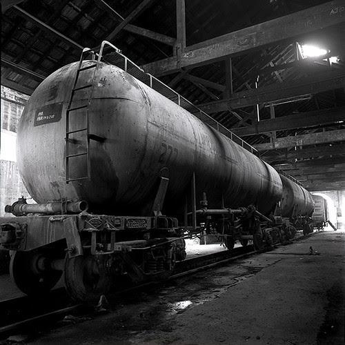 An Old Train Depot