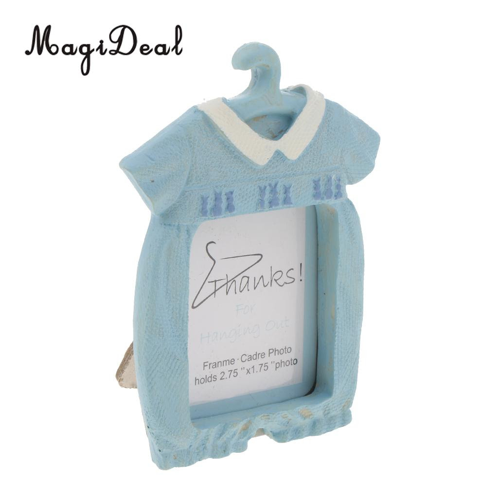 Coat Hanger Mini Photo Frame Christening Party Favors Christen My Day