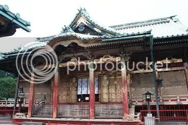 Entrada al temple Toshogu