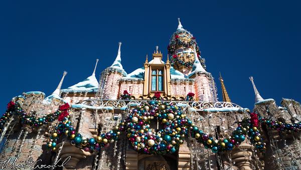 Disneyland Resort, Disneyland, Fantasyland, Sleeping Beauty Castle, Christmas Time, Christmas