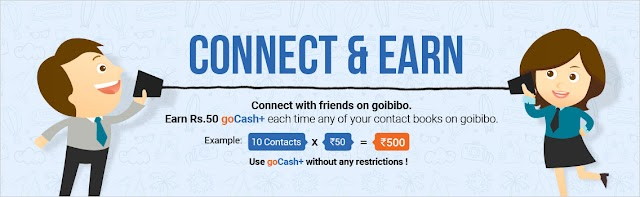 Join Goibibo and get rs 3000 goCash + refer and earn