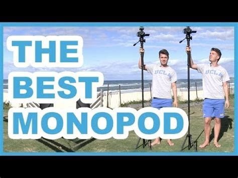 The BEST Monopod for DSLR Video, Photography & GoPro