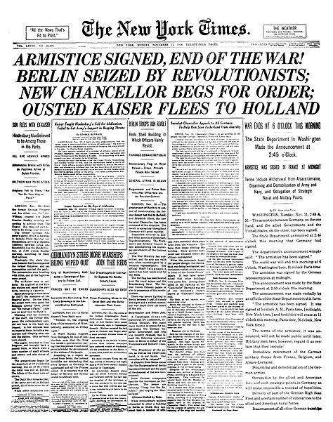 Arquivo: NYTimes-Página1-11-11-1918.jpg