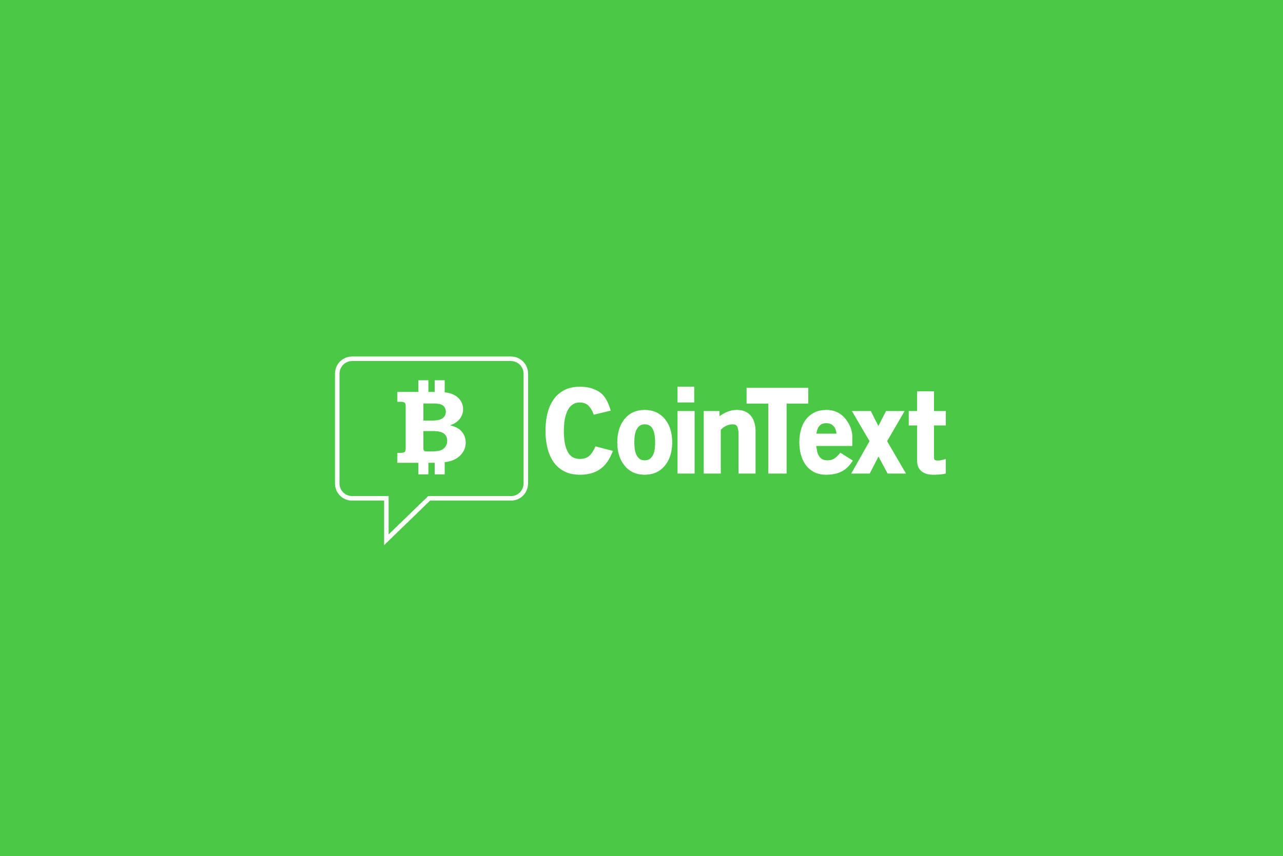 Cointext Announces Sms Bitcoin Cash Wallet To Transact Bch Without -