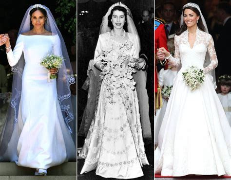 Royal wedding dresses through the years   Royal Galleries