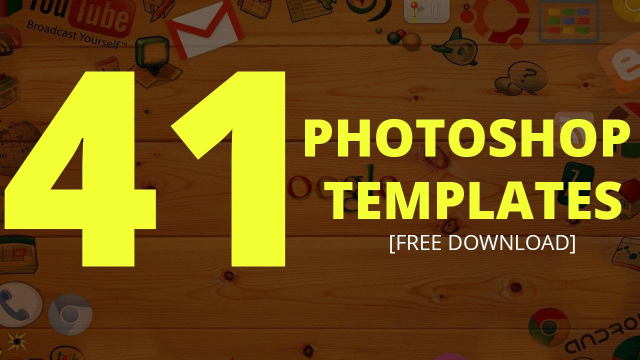 41 Photoshop Templates Free | Text Effect Templates - Dezcorb