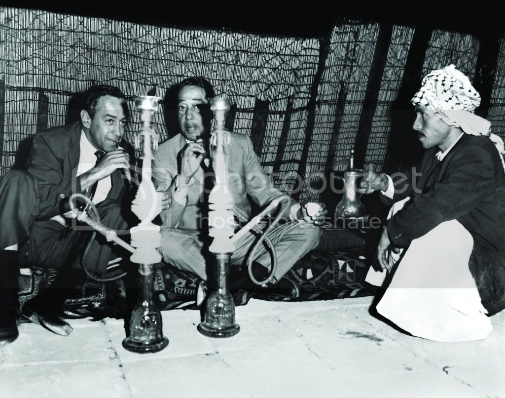 Smoking Shisha in Iraq, 1963