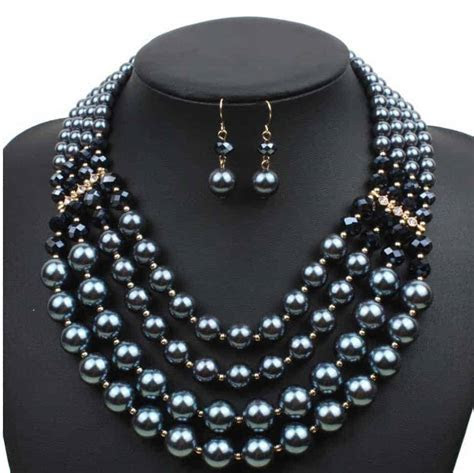 Fake Pearl Jewelry Sets for Wedding,Party,Prom Jewelry