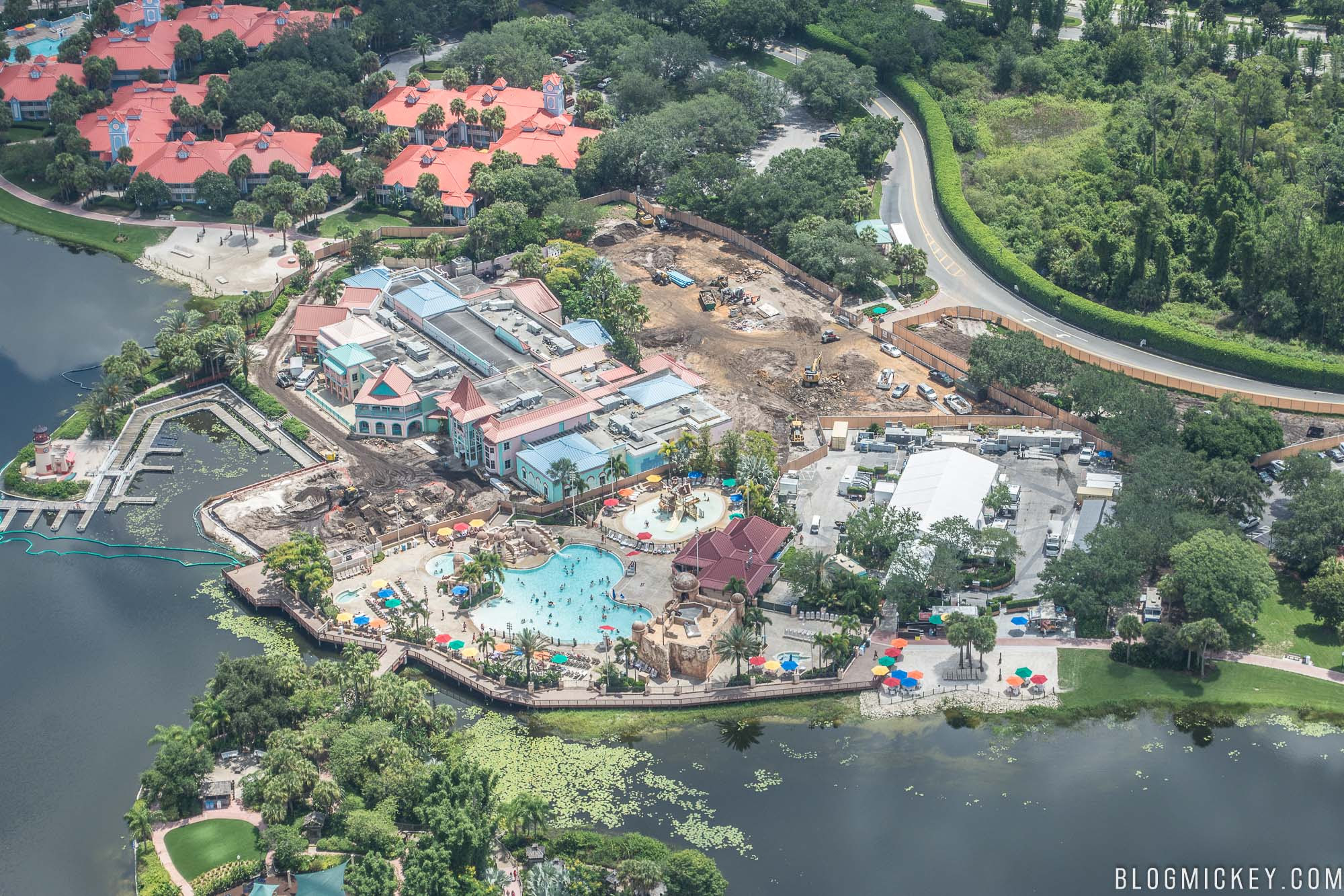 PHOTO Disneys Caribbean Beach Resort Centertown