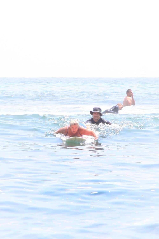 Scimparello magazine Petra Barkhof catching a wave