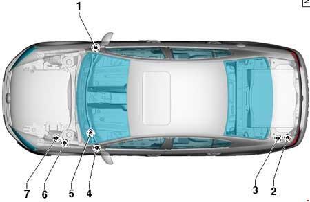 Volkswagen Passat B7 2010 2015 Fuse Box Diagram Auto Genius
