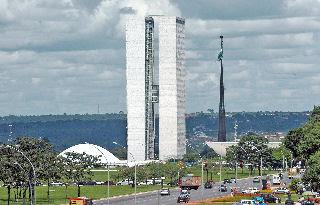 Os prédios do Congresso Nacional