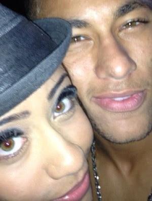 Neymar ao lado da irmã Rafaella (Foto: Reprodução / Instagram)
