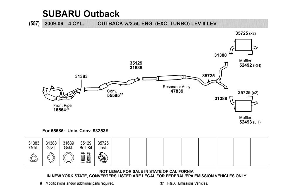 33 2001 Subaru Outback Exhaust System Diagram - Wiring ...