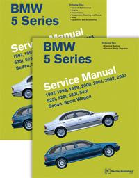BMW Repair Manual - BMW 5 Series (E39):1997-2003 - Bentley ...