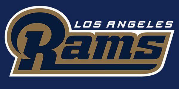 The new logo for the Los Angeles Rams.