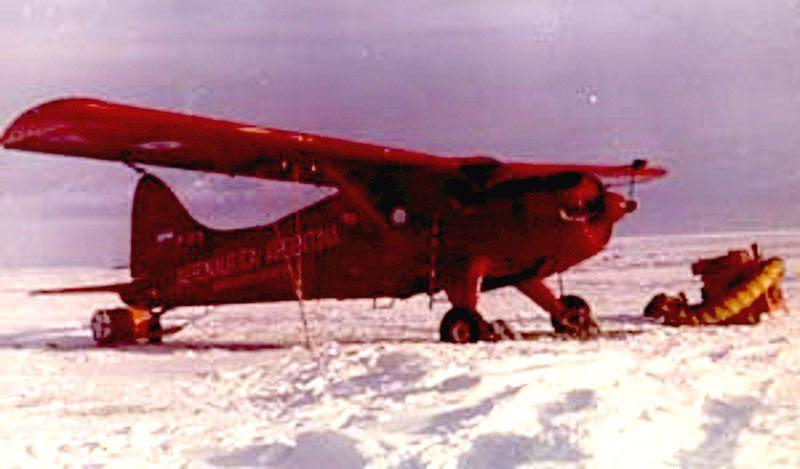 Fuerza Aérea realiza el primer vuelo nocturno en la Antártida