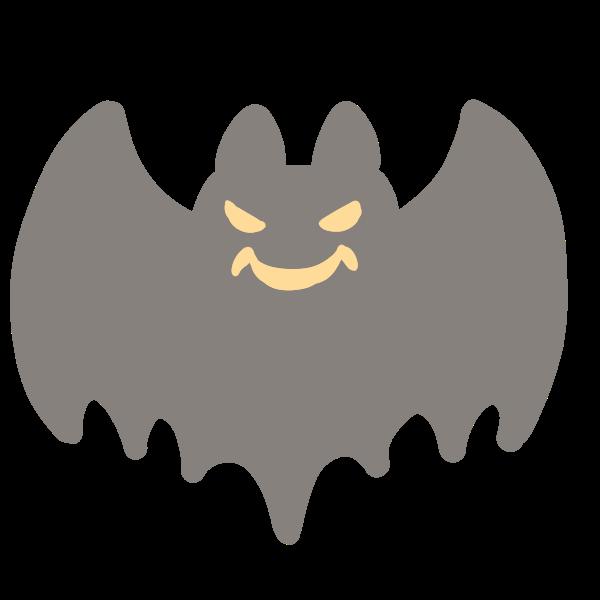 怖いコウモリのイラスト かわいいフリー素材が無料のイラストレイン
