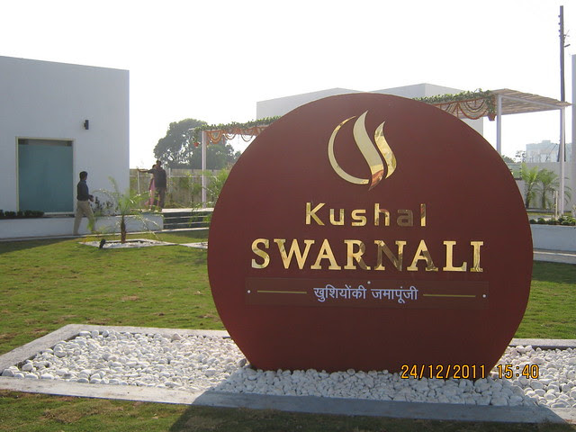 1,000 Flats in 11 story 11 towers - Visit to Kushal Swarnali Township, 1 BHK & 2 BHK Budget Flats at Chakan, Pune 410 501