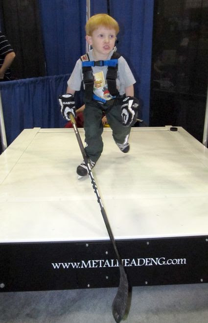 Skating treadmill, Skating treadmill