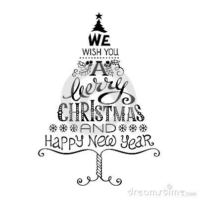 Merry Christmas Black And White Merry Ideas On Christmas Card