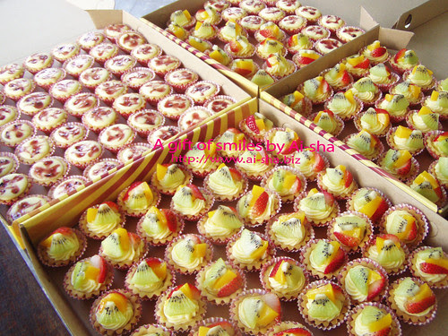 Cheese Tart & Fruit Tart