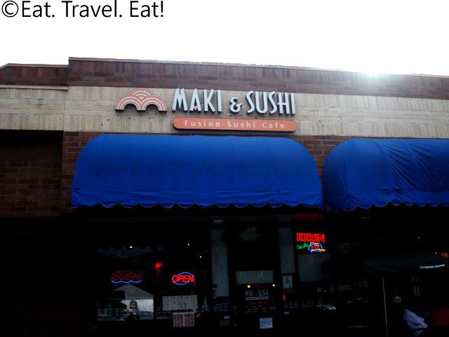 Maki and Sushi Fusion Sushi Cafe Exterior
