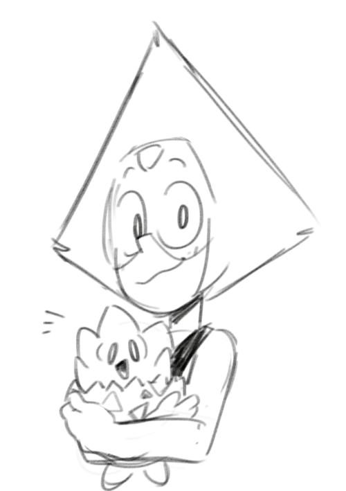 Peridot with pokemons