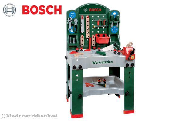 Bosch Work Station | Kinderwerkbank.nl