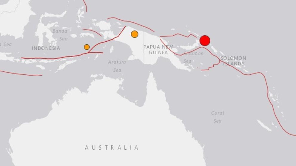 ALERTA DE TSUNAMI TRAS TERREMOTO DE 7,9 GRADOS EN PAPUA NUEVA GUINEA