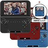 GPD XD 赤 64GB版 + 液晶保護フィルム付属 (5インチ /IPS液晶 /Android 4.4 /HDMI搭載 /Miracast搭載 /ゲーミングタブレット)[正規輸入品] (64GB, 赤)