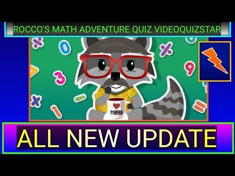Rocco's Math Adventure Quiz Answers Score 100%