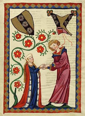 Brunwart von Augheim, Codex Manesse, Glória da Idade Média