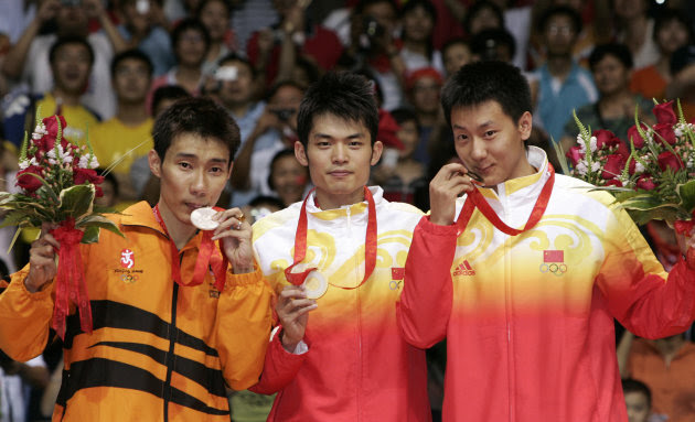 Lee wins silver at the Beijing…