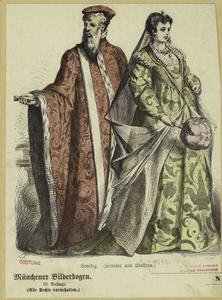 Venedig (Senator und Edelfrau.... Digital ID: 811572. New York Public Library