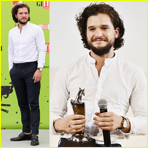 Kit Harington Gets Honored at Giffoni Film Festival 2017
