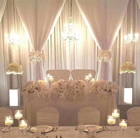 Image result for wedding reception backdrop head table