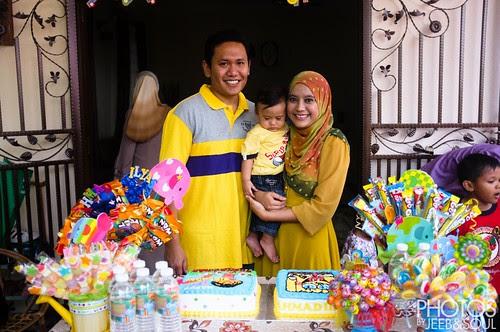 Ilyas's 1st Birthday 2013