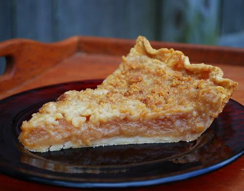 Grated Apple Pie slice