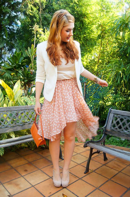 Asymmetrical skirt by The Joy of Fashion (9)
