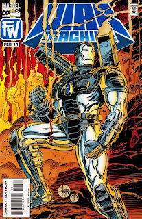 Marvel Comics - War Machine #11 Cover Artwork
