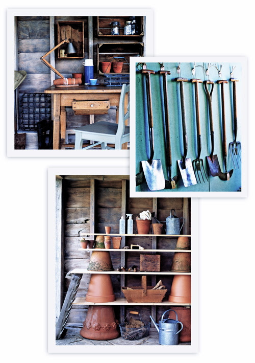 Garden Shed Interior Ideas
